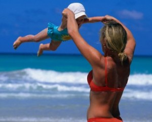 Солнечные ванны - закаляем ребенка