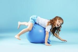фитбол для ребенка