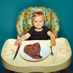 прикорм ребенка - мясо