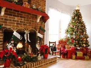 украшаем дом к новому году!