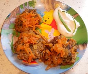 картофельные драники со шпинатом
